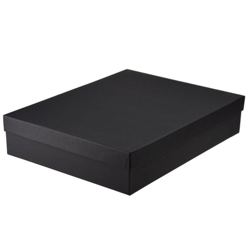 Czarne Pudełko prezentowe Noble
