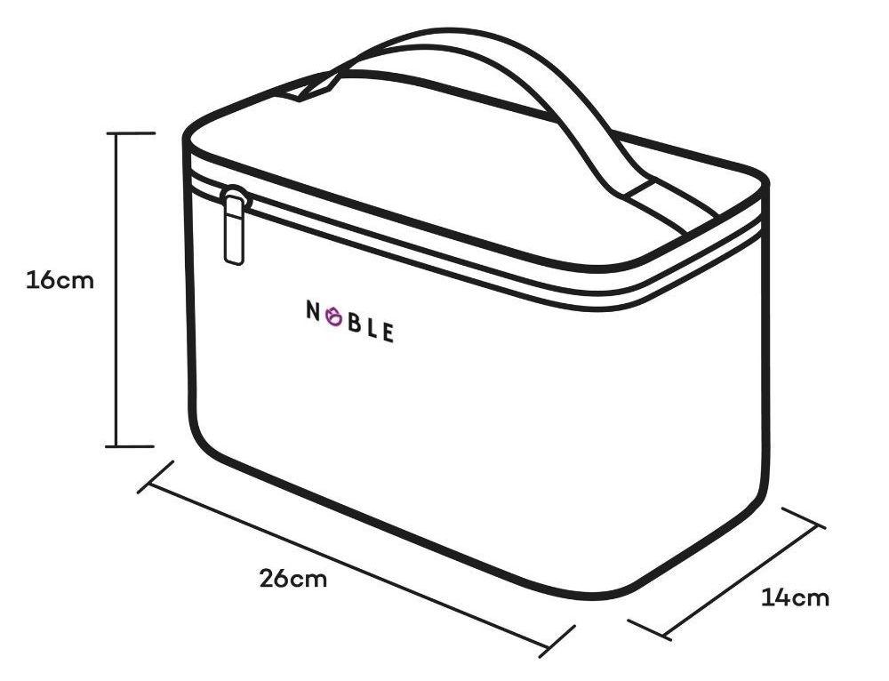 kuferek na kosmetyki kosmetyczka Noble