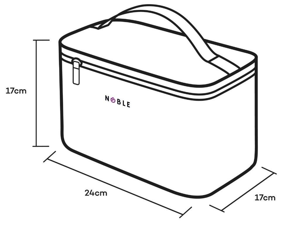 Kosmetyczka kuferek A003