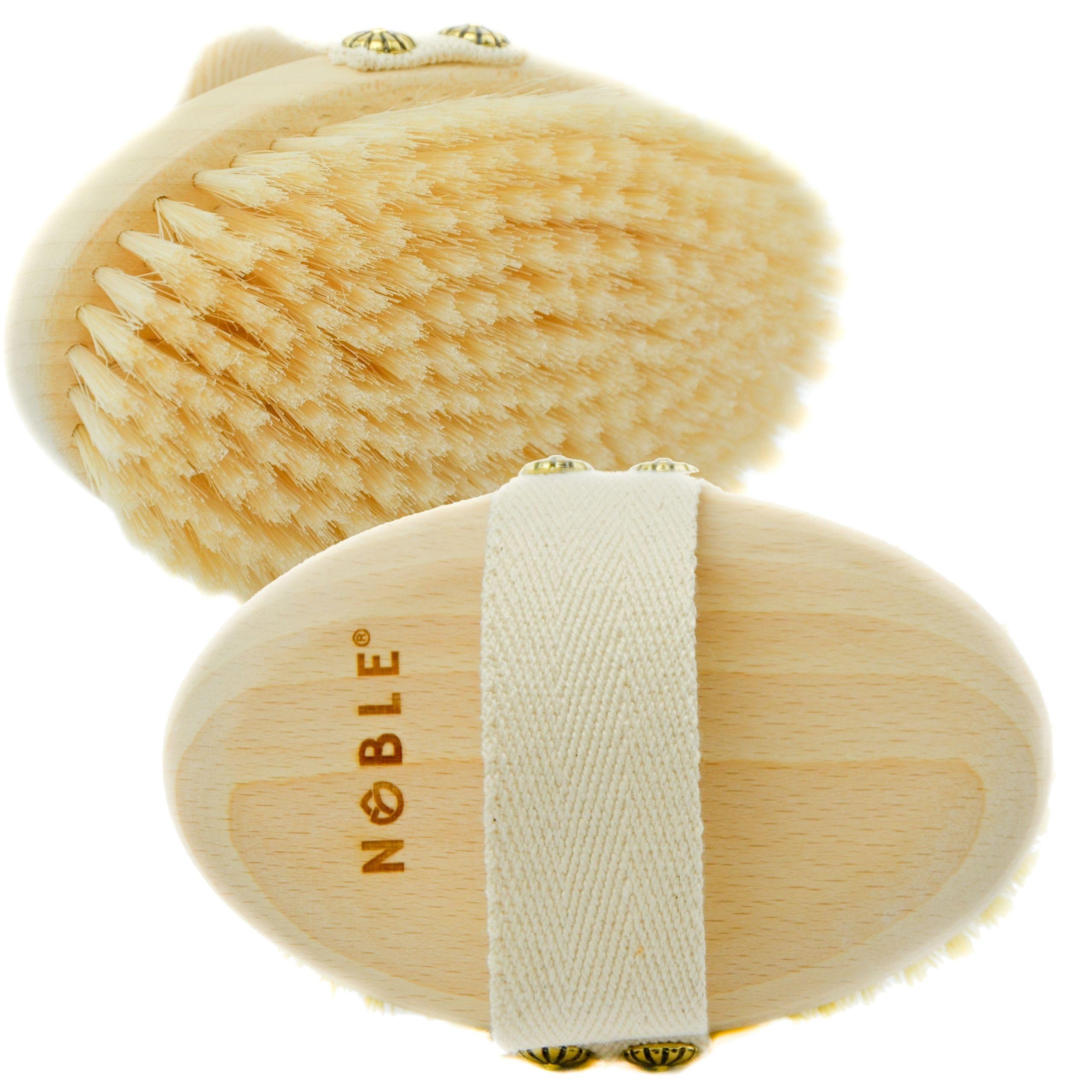 Szczotka do masażu na sucho Noble szczecina
