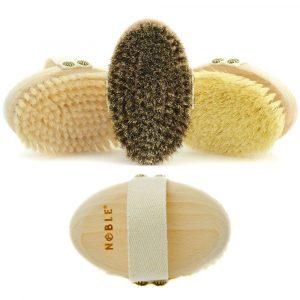 zestaw 3x szczotka do masażu na sucho Noble