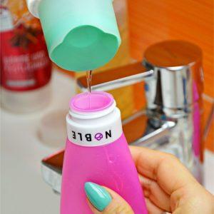 buteleczka do samolotu na kosmetyki