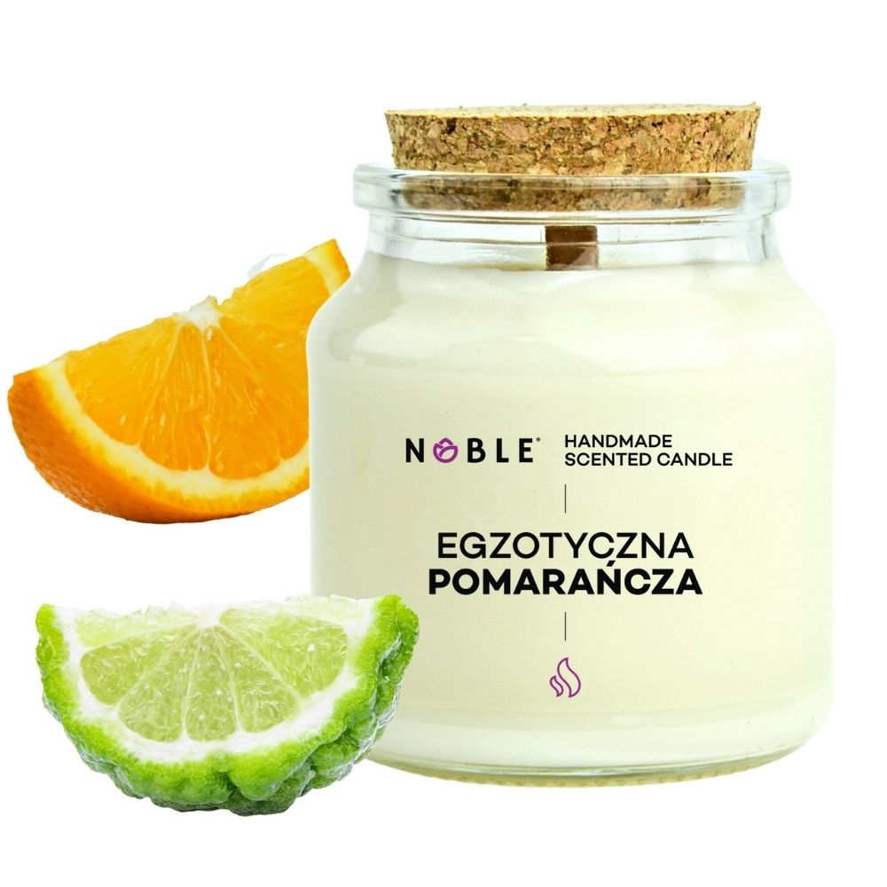 świeca zapachowa cytrusowa Noble