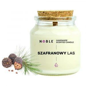 świeca zapachowa sojowa naturalna Noble