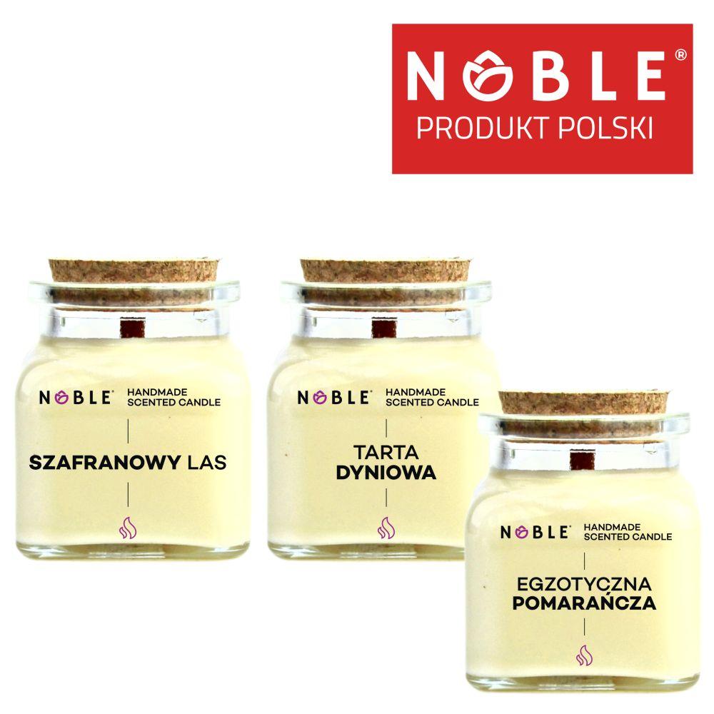 Zestaw świec zapachowych Noble