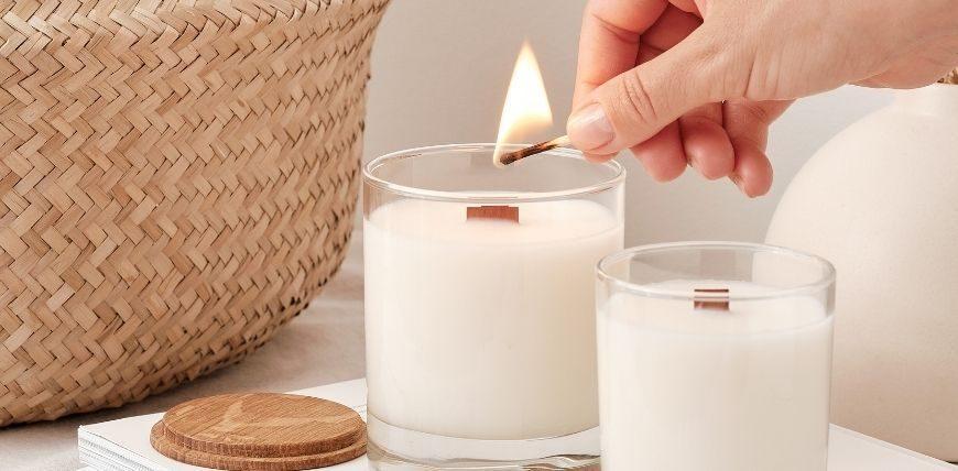 Zapachowe świece sojowe NOBLE