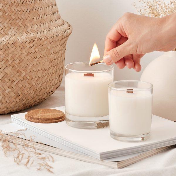 Naturalne świece sojowe zapachowe Noble